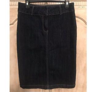 Dresses & Skirts - Dark wash denim skirt